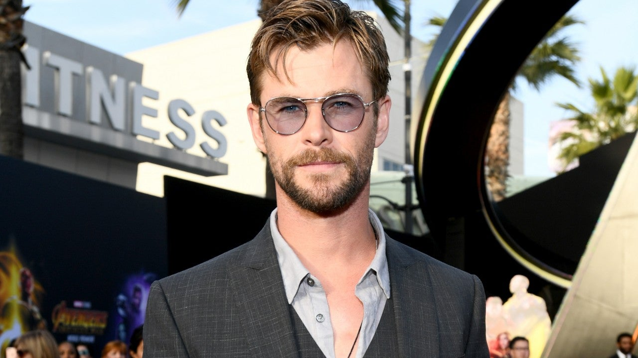Chris Hemsworth Laughs Off Surfing Wipeout As A