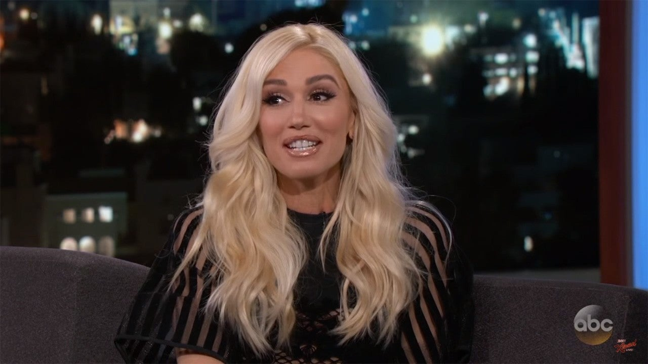 Gwen stefani says one of blake sheltons ex girlfriends had her face gwen stefani says one of blake sheltons ex girlfriends had her face plastered over her whole bedroom entertainment tonight sciox Gallery