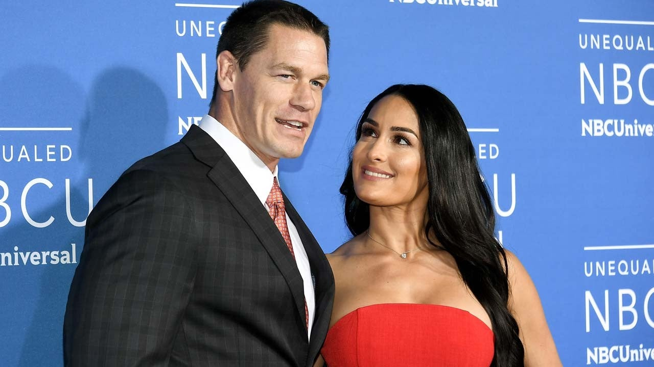 John Cena and Nikki Bella Share Inspirational Messages on What Would Have Been T...