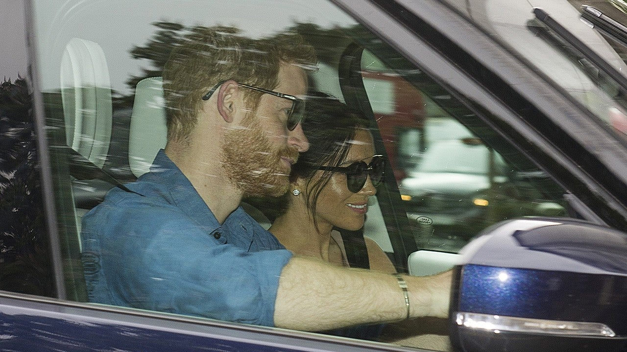 Prince Harry and Meghan Markle Are All Smiles at Kensington Palace After Royal Wedding Weekend
