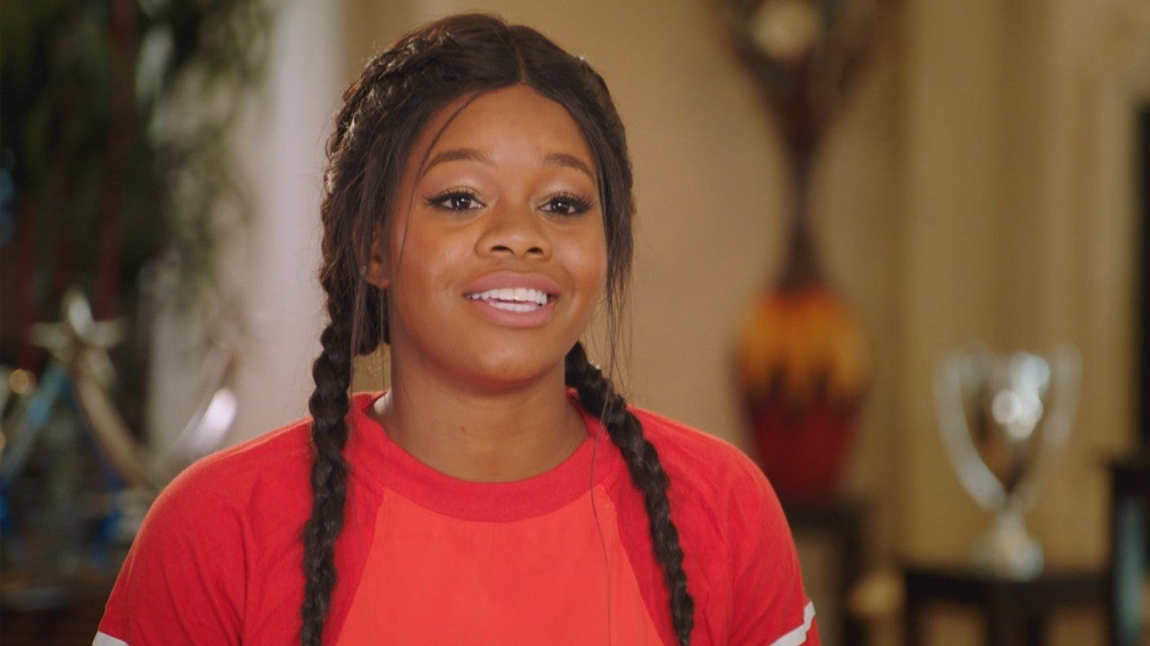 Gabby Douglas Transforms Into A Middle Aged Woman On