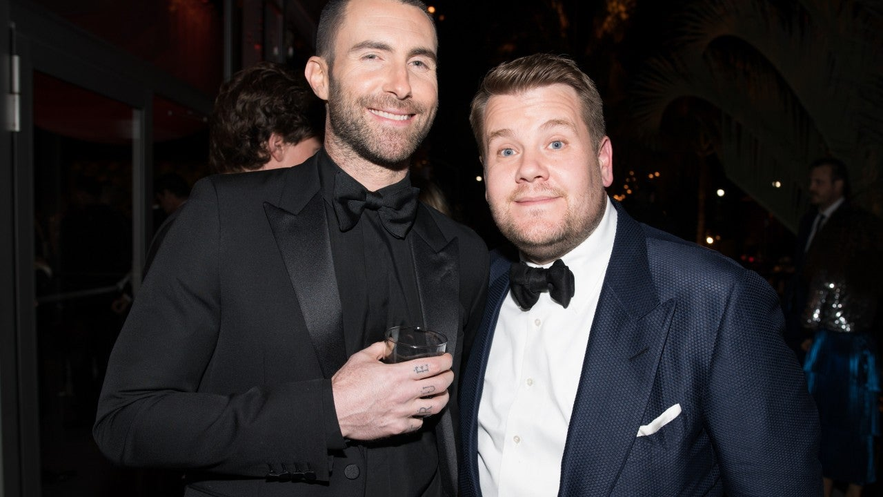 Adam Levine And James Corden Get Pulled Over By A Cop