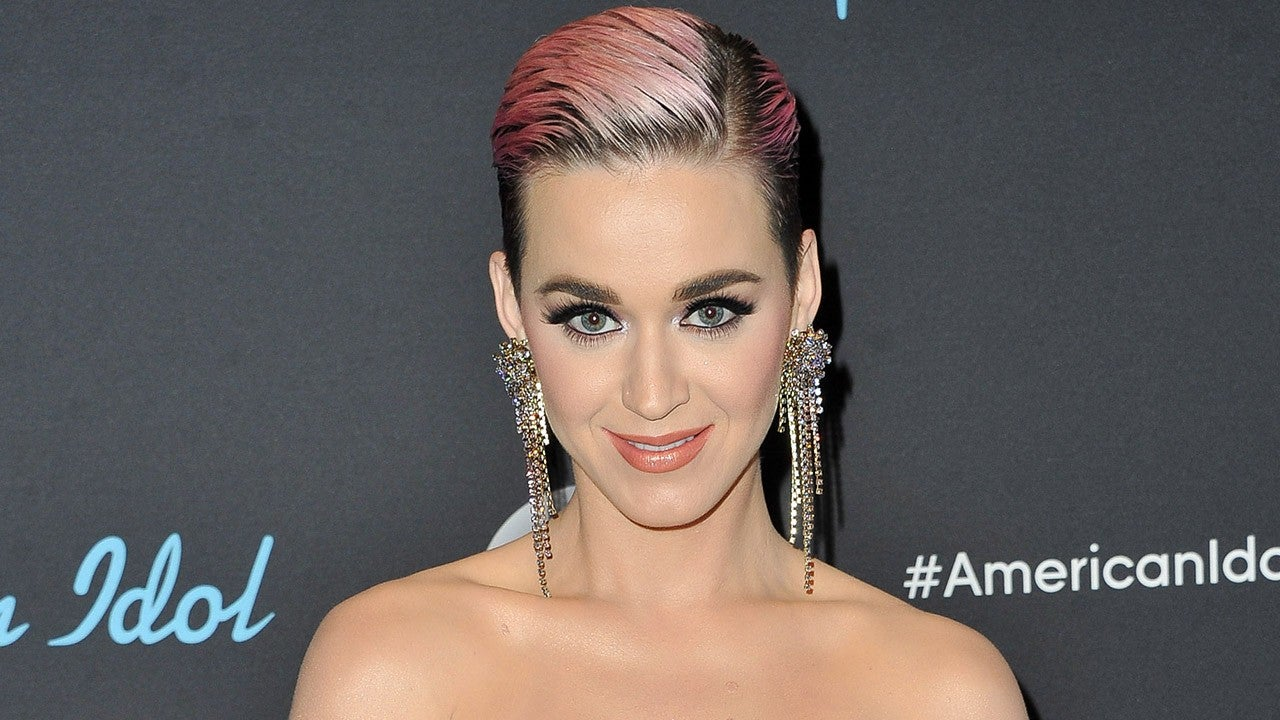 Katy Perry Says She's 'Not Single' During 'American Idol' Finale After Kissing 'Bachelorette' Becca's Hand