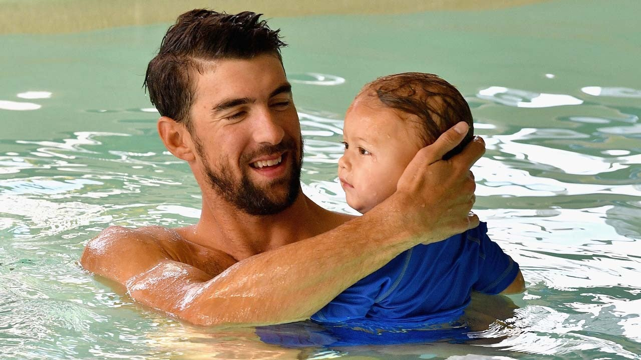 Michael Phelps Celebrates Son Boomer S 2nd Birthday With