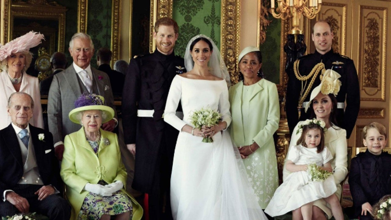 Royal Wedding Party.Prince Harry And Meghan Markle S Official Royal Wedding Photos Are