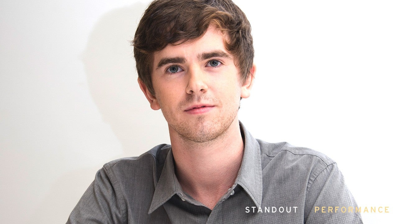 Emmys 2018 Freddie Highmore Leaves His Indelible Mark On