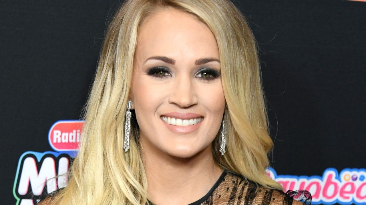 Carrie Underwood Beams on Radio Disney Music Awards Red Carpet