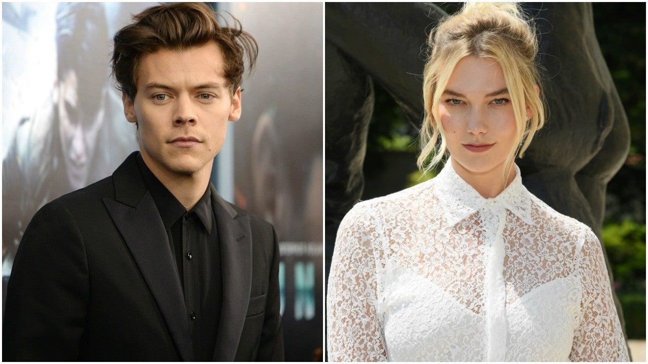 Taylor Swift's Ex-Boyfriend Harry Styles Hangs Out With Her Friend Karlie K...