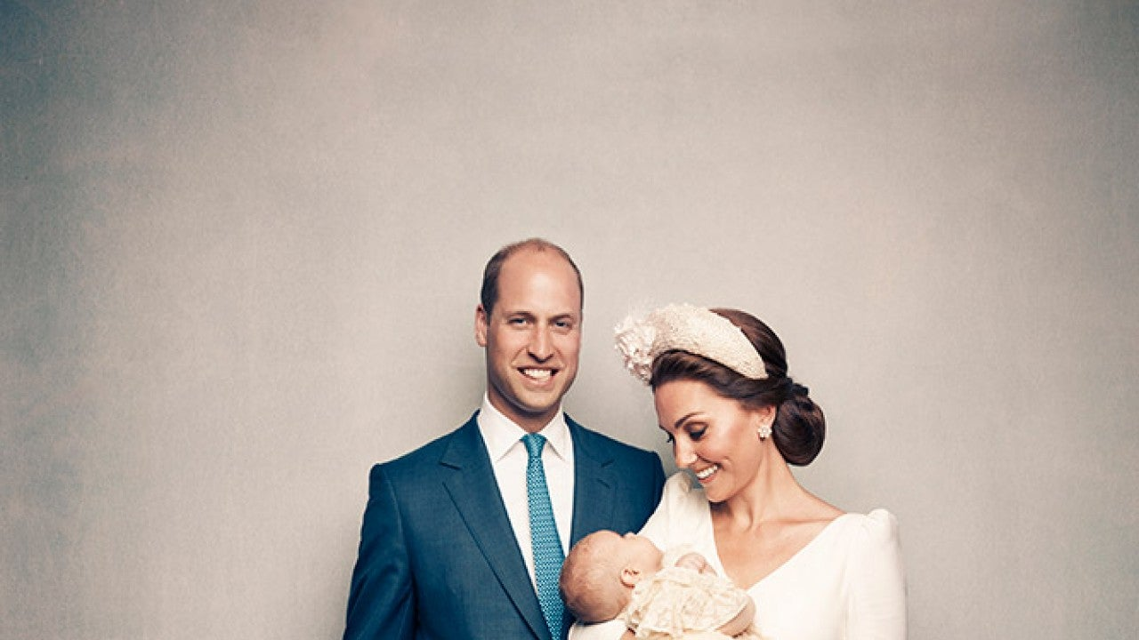 Prince Louis Is Awake and Adorable in Additional Christening Photo