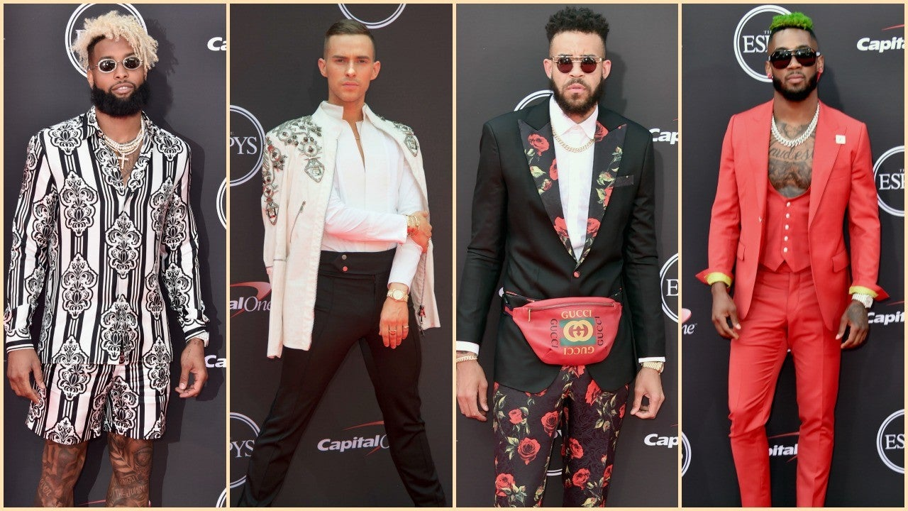 The Best and Boldest Men's Fashion on the 2018 ESPYs Red ...