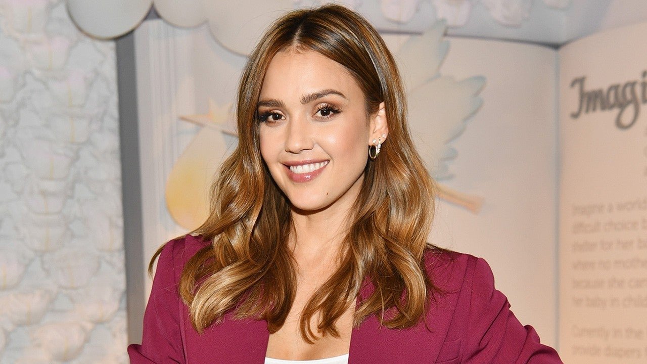 560cbfaae Jessica Alba's Constellation Tattoos in Honor of Her Kids. The actress and  her three kids appear on the cover of 'Parents' magazine's December issue.