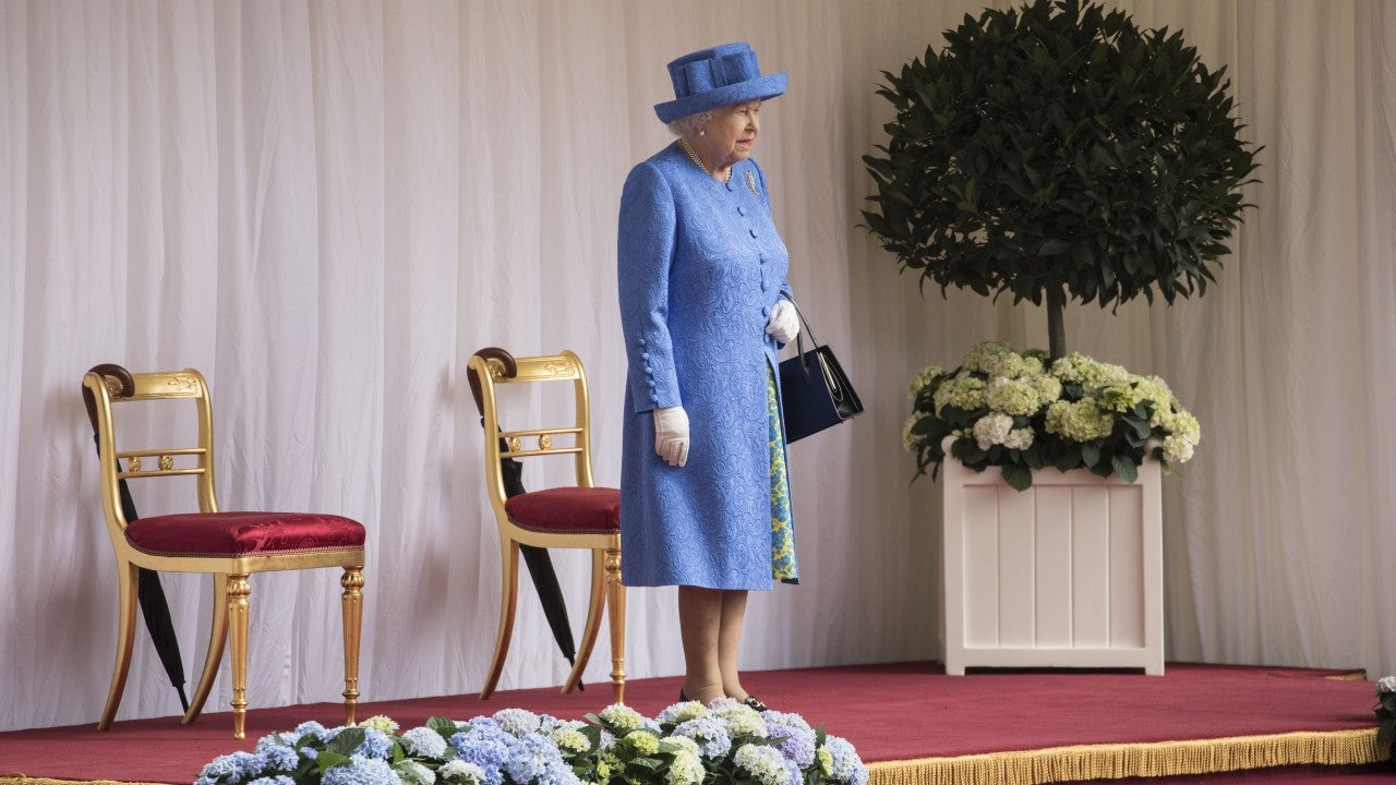 Queen Elizabeth II Checks Her Watch as Donald Trump Keeps Her Waiting at 1st Official Meeting