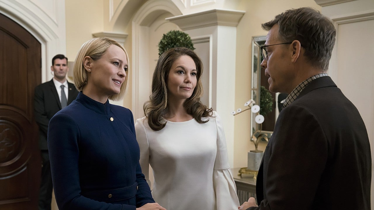 'House of Cards' Final Season: First Look at Diane Lane and Greg Kinnear's Characters | Entertainment Tonight