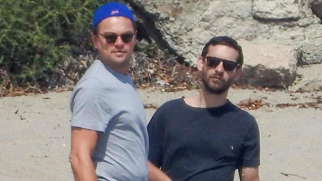 Leonardo Dicaprio Has Star Studded Beach Party Before Date