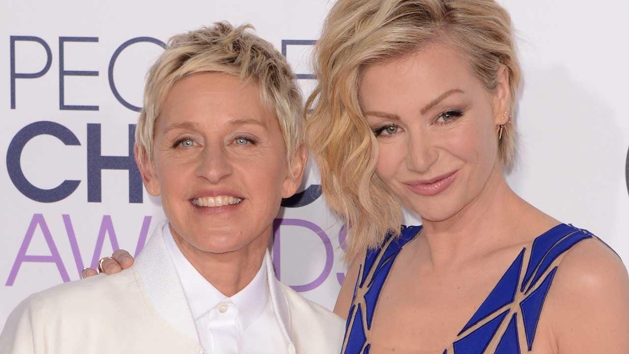 Inside Ellen Degeneres And Portia De Rossi S Unbreakable Relationship On Their 10 Year Wedding Anniversary Entertainment Tonight