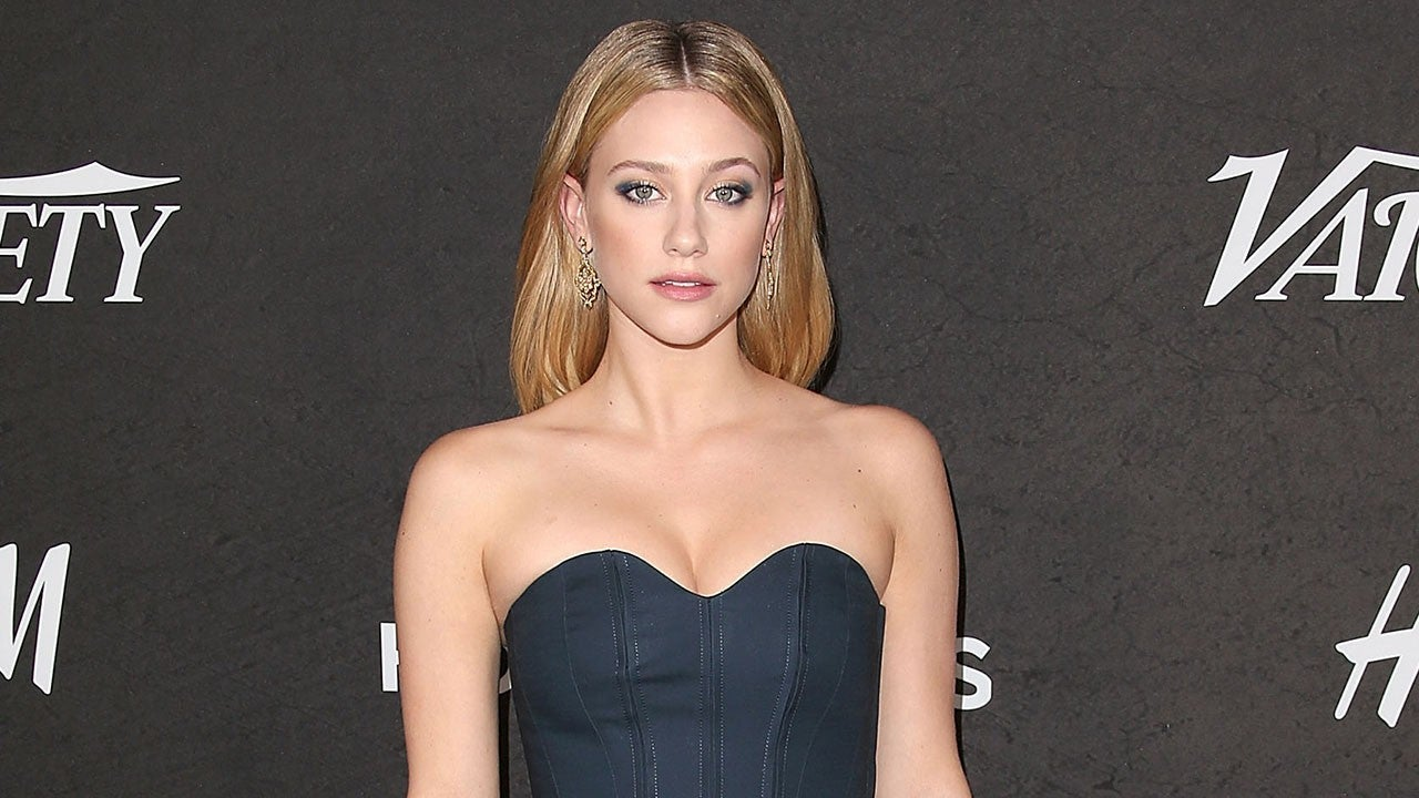 lili reinhart looks like a complete movie star at 'variety' young