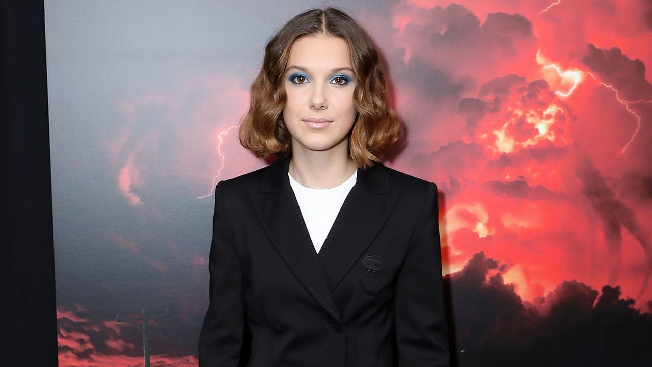 Millie Bobby Brown Looks Like A Boss In Blazer Dress And
