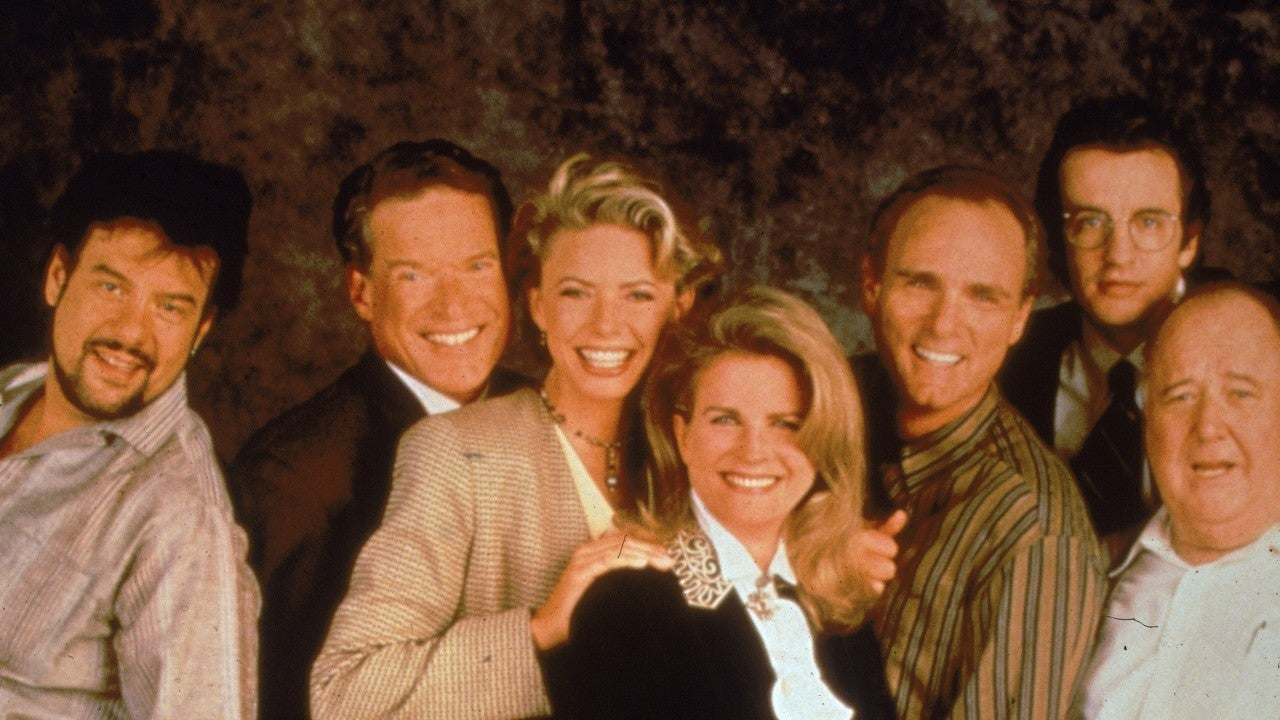 cast of murphy brown then and now entertainment tonight. Black Bedroom Furniture Sets. Home Design Ideas