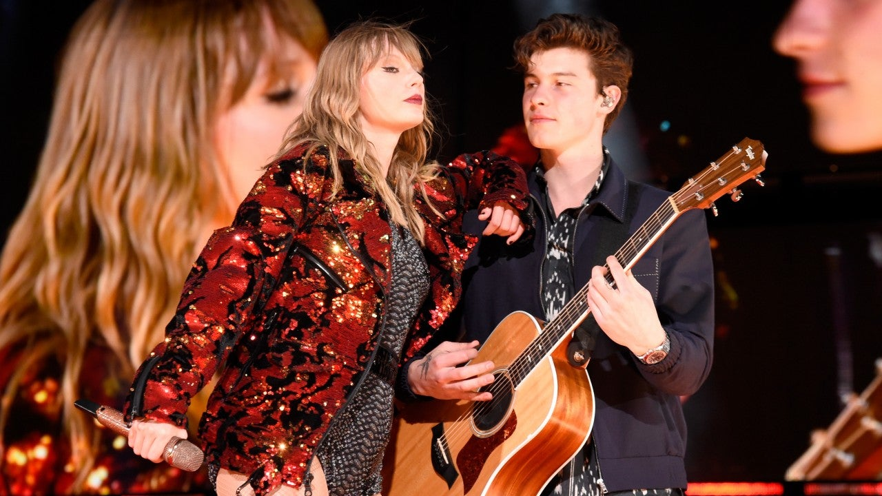 Taylor Swift Gives Shawn Mendes The Perfect Glittery