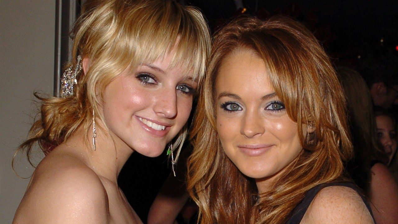 Ashlee Simpson Reveals Her Song Boyfriend Was About Lindsay Lohan And Wilmer Valderrama Entertainment Tonight