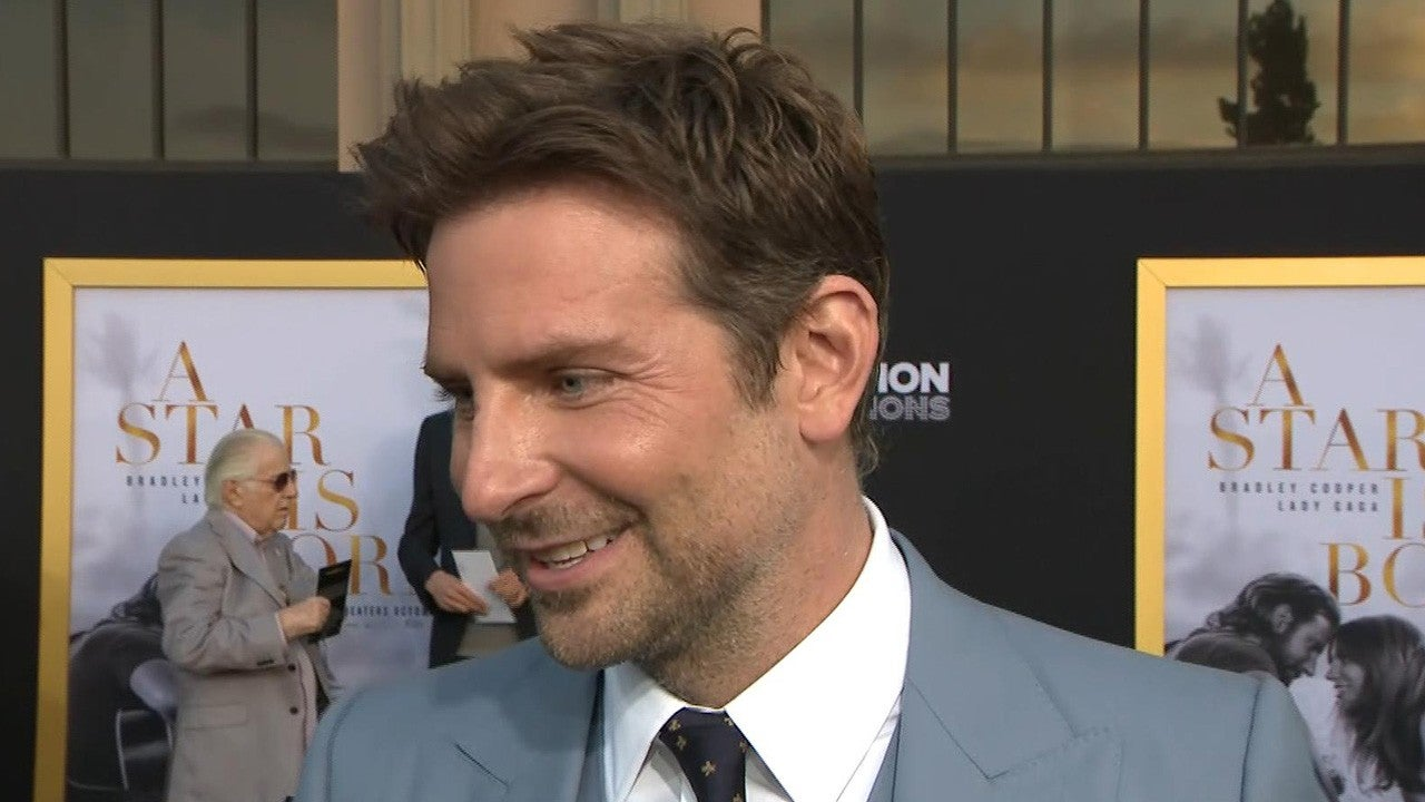 Bradley Cooper Reveals What He Sings Around the House After Playing a Rocker in 'A Star Is Born' (Exclusive)   Entertainment Tonight