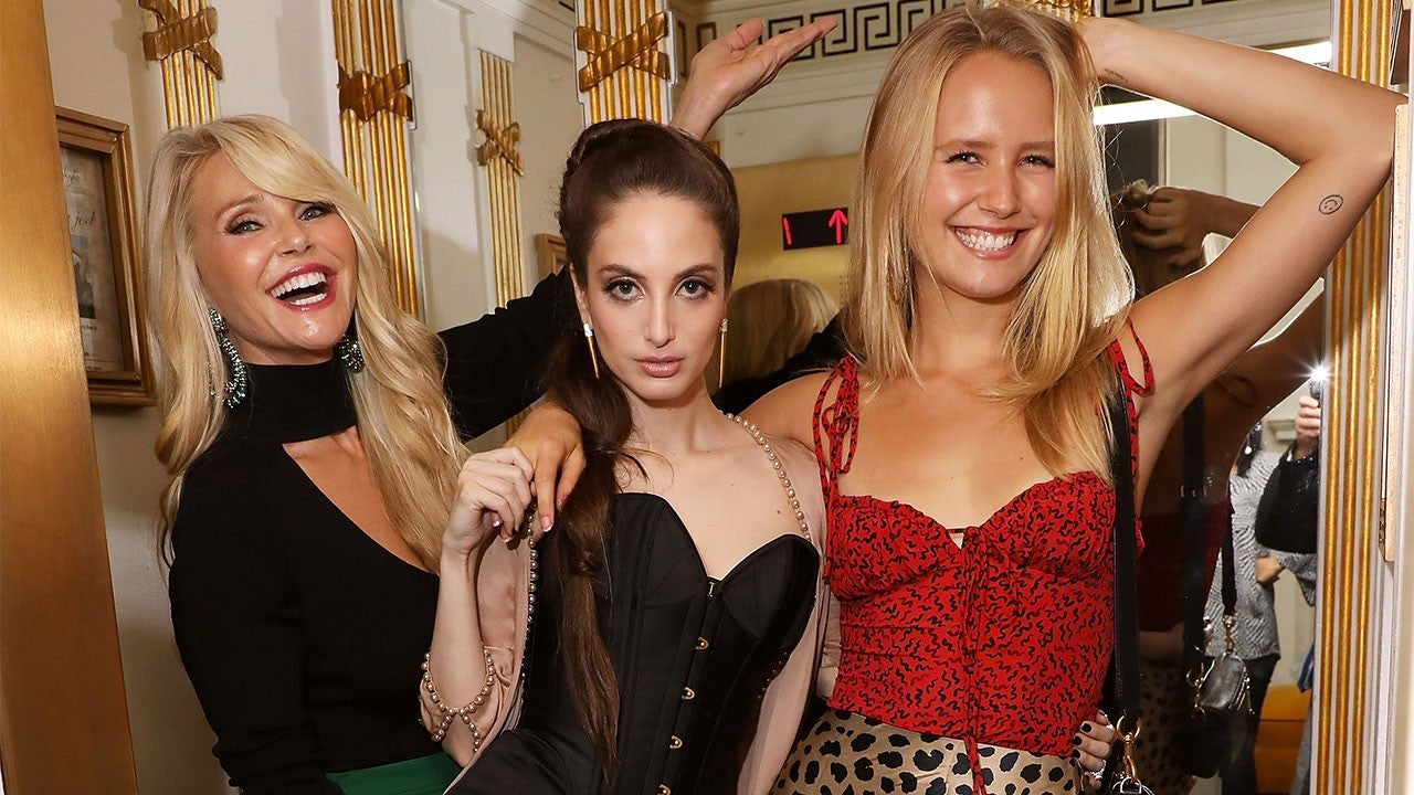 Christie Brinkley Looks as Youthful as Her Daughters Sailor and Alexa Ray While ...