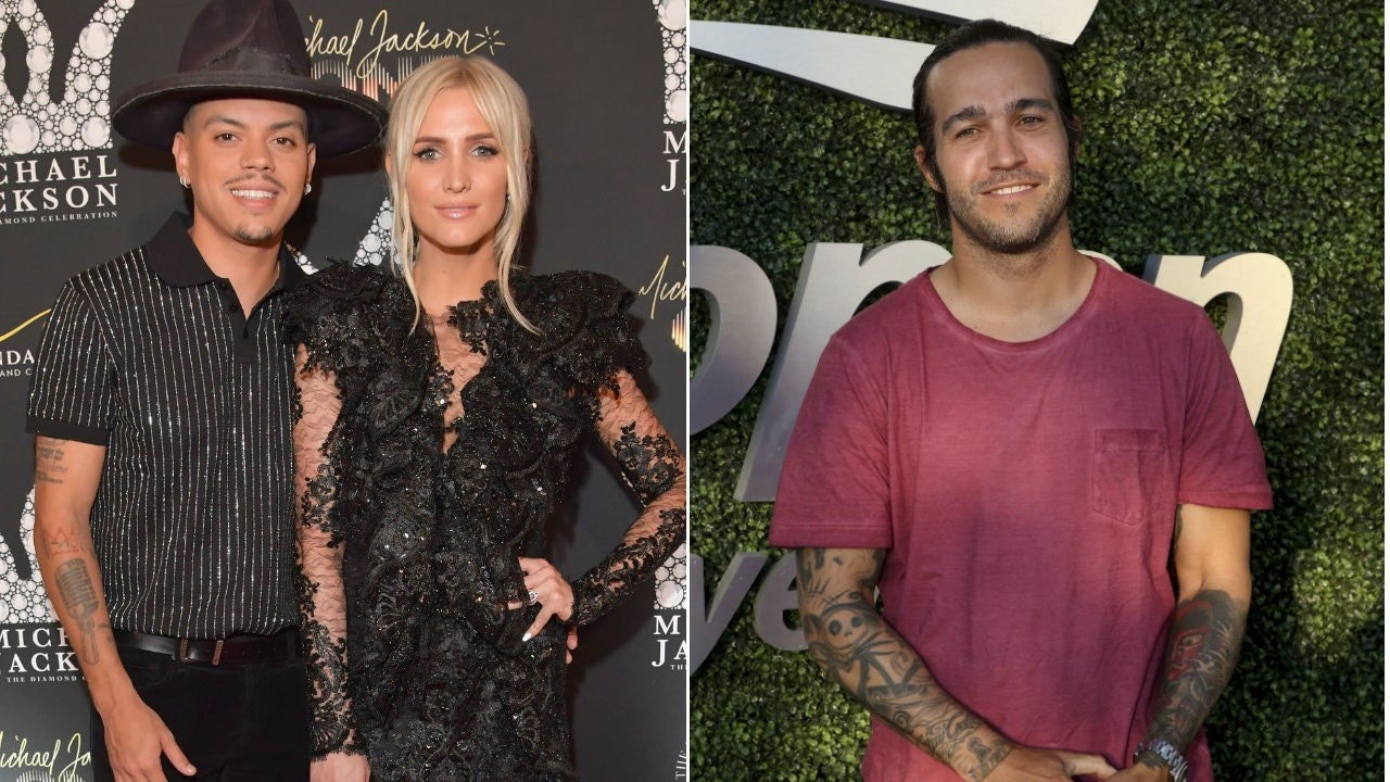 Evan Ross Talks His 'Amazing' Relationship With Ashlee Simpson's Ex-Husband, Pete Wentz