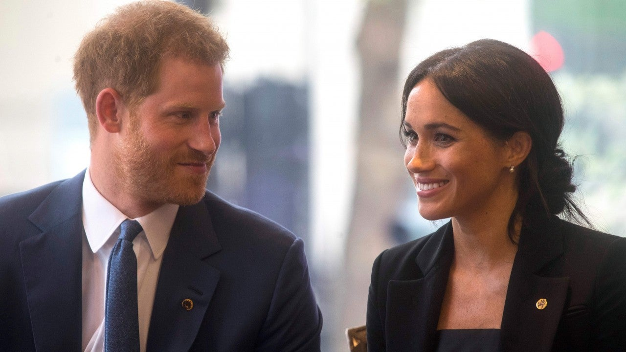 Meghan Markle and Prince Harry Look Ready for Their Royal Trip to Australia in N...
