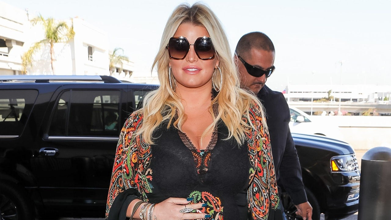 Jessica Simpson Dresses Her Baby Bump for Every Occasion -- Peek Her Maternity S...