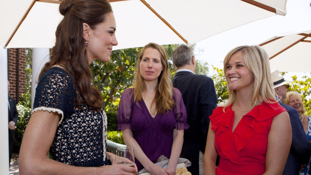 Reese Witherspoon Has the Most Candid Reaction to Meeting Kate Middleton: 'I Imm...