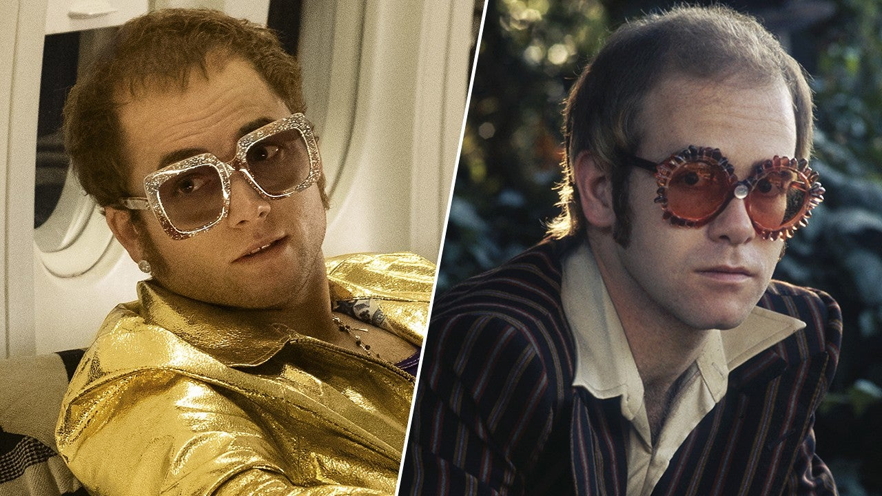 Taron Egerton as Elton John in 'Rocketman'