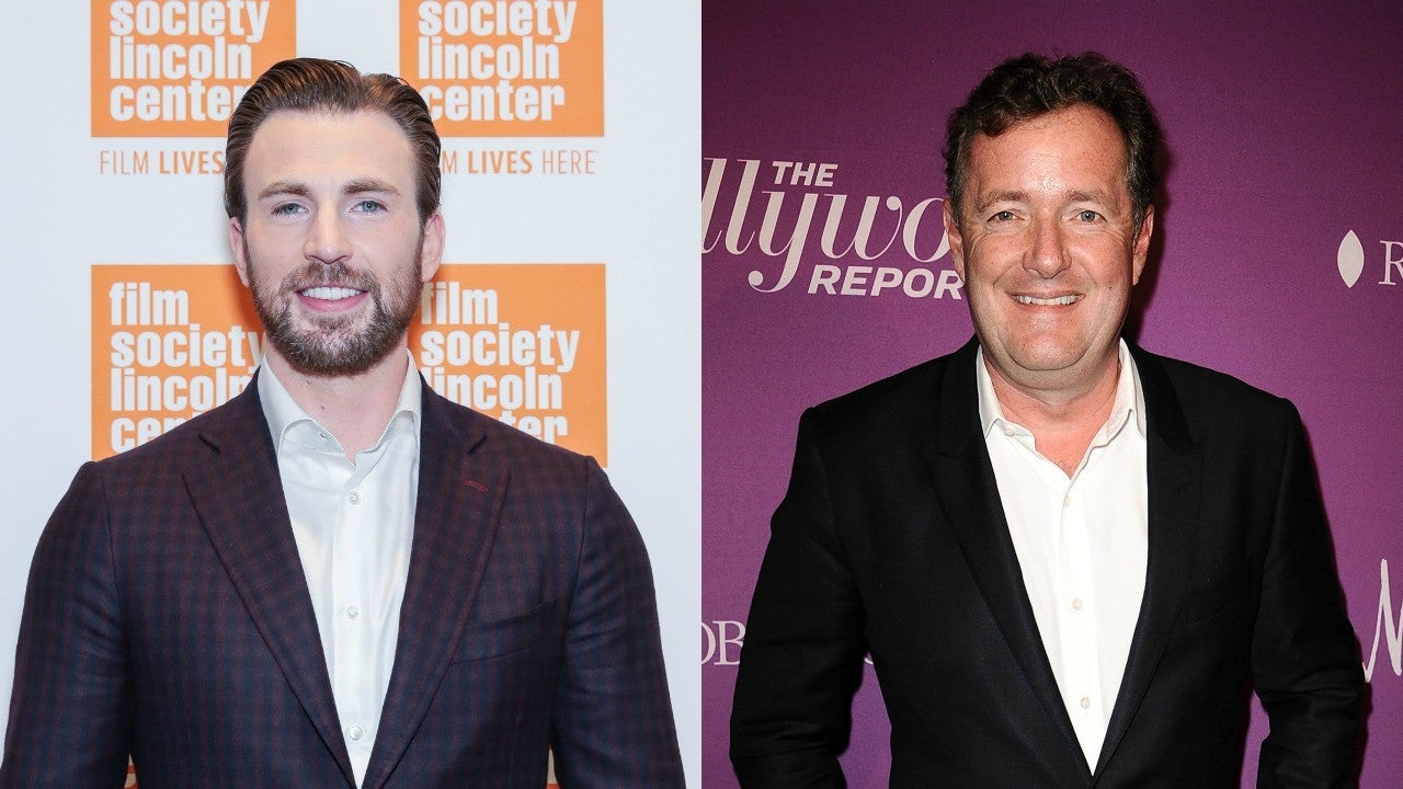 Chris Evans Calls Out Piers Morgan for Questioning Daniel Craig's Manhood for Us...
