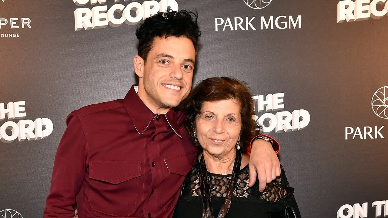 Rami Maleks Mom Sweetly Embarrasses Him With Kind Words At
