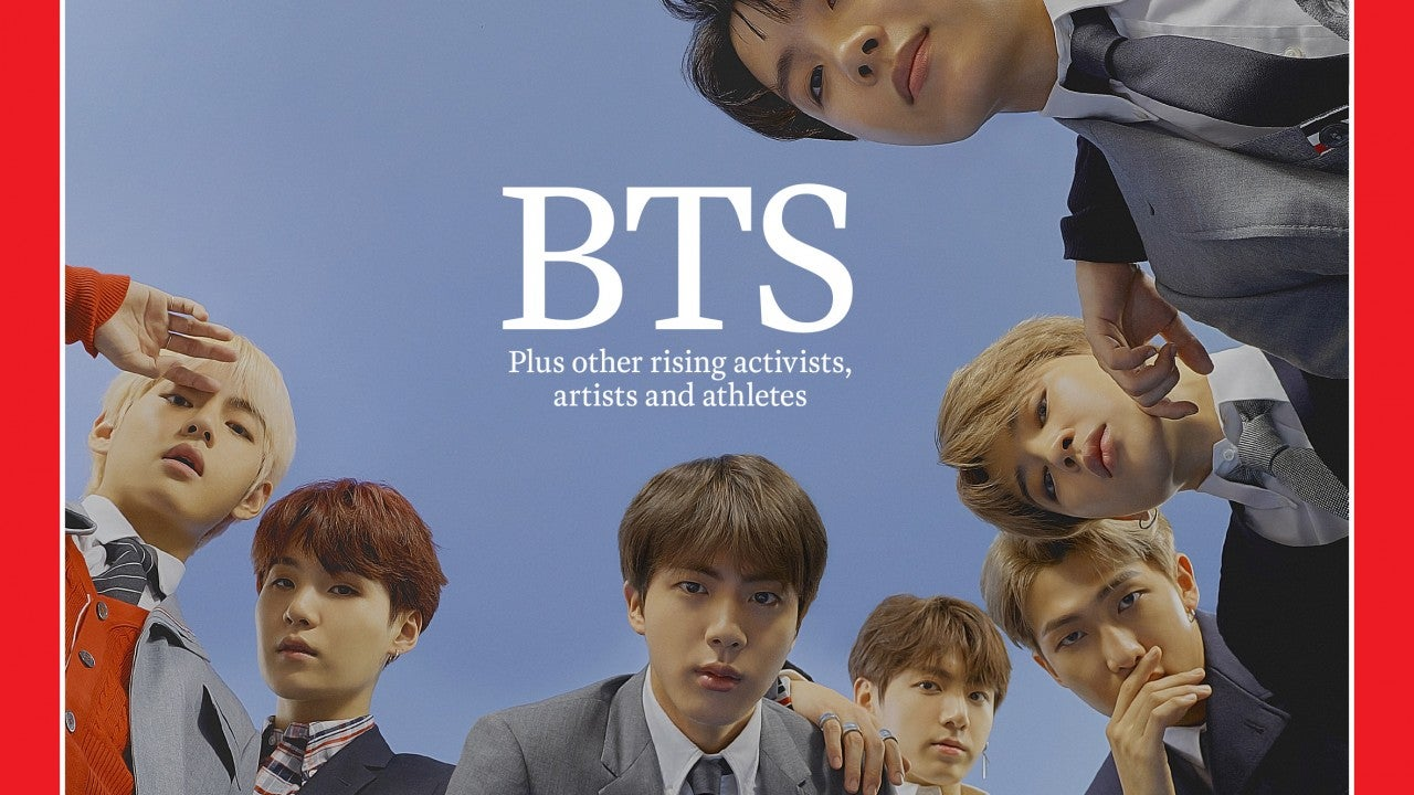 BTS Honored as 'Time' Magazine's 'Next Generation Leaders'