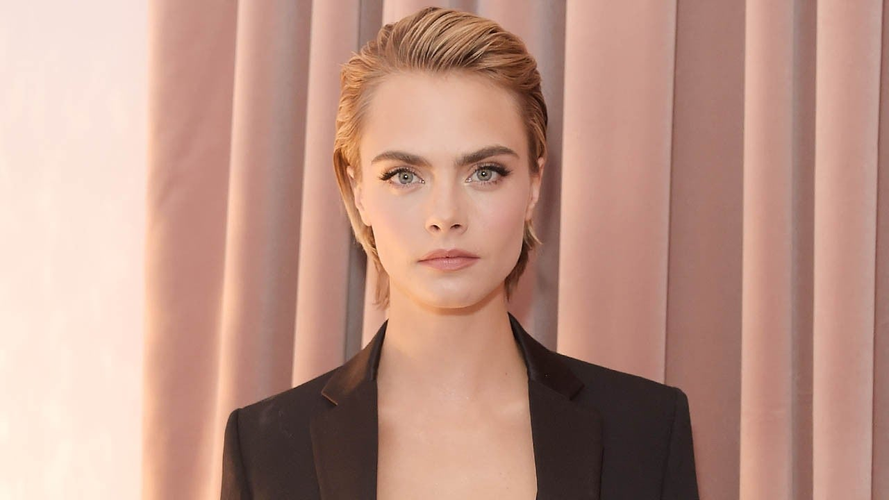 Cara Delevingne Reveals She Hated Her Eyebrows While Growing Up
