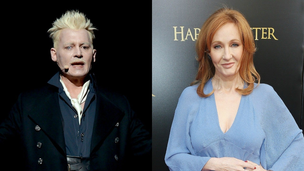 Johnny Depp Says He 'Felt Bad' J.K. Rowling Came Under Fire For His 'Fantastic B...