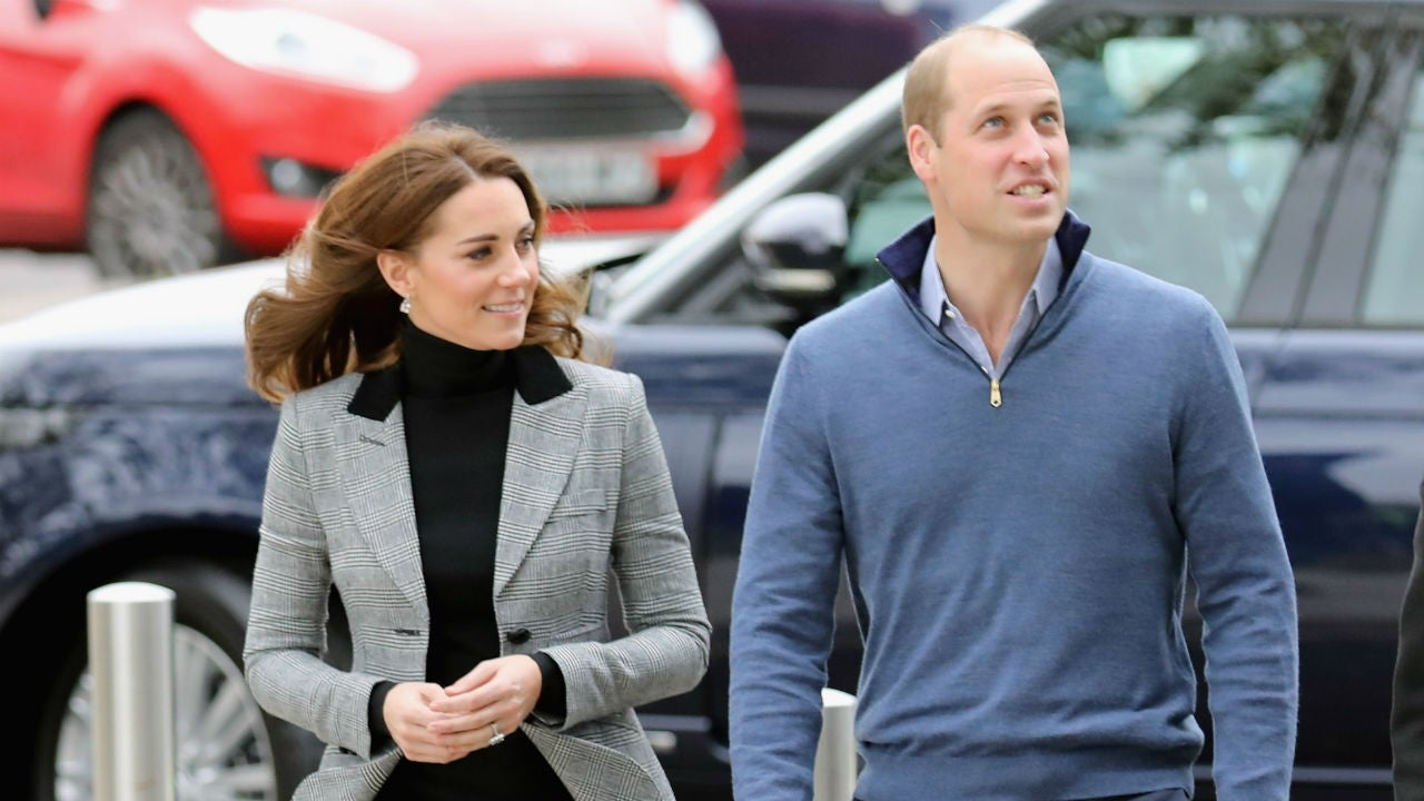 Kate Middleton and Prince William Go Casual at Coach Core ...