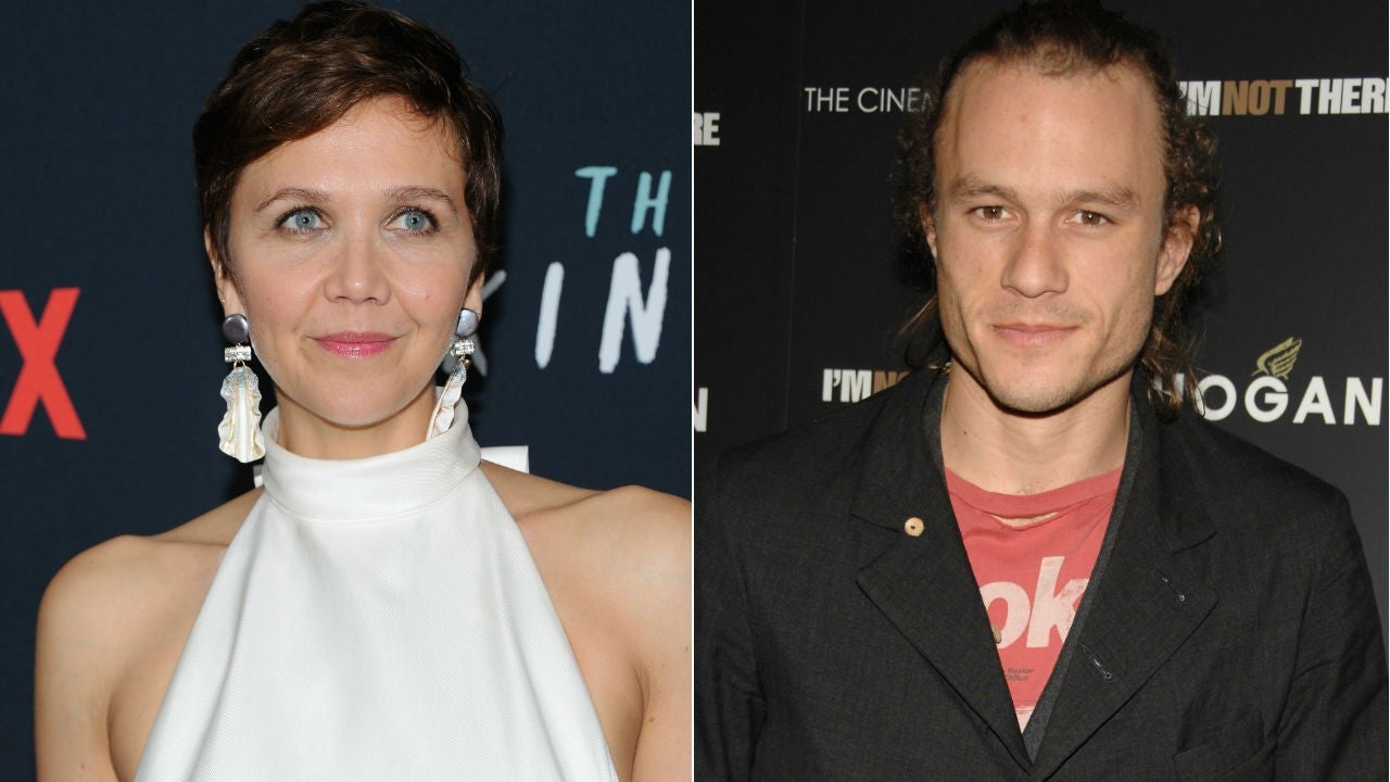 Maggie Gyllenhaal Says Heath Ledger Was 'On a Whole Other Level' on 'The D...