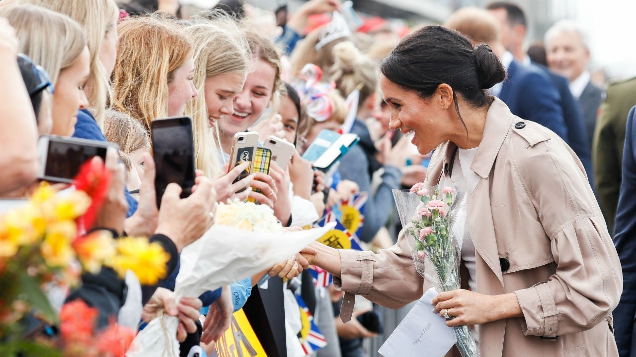 Meghan Markle's sweet reunion with fan she used to speak to on social media advise