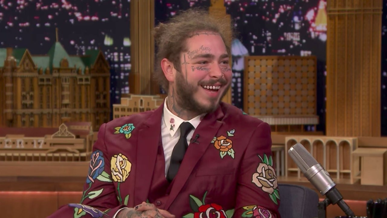 Post Malone Before His Tattoos: Post Malone Says He Got Tattoos To Prove He's 'Way Tougher