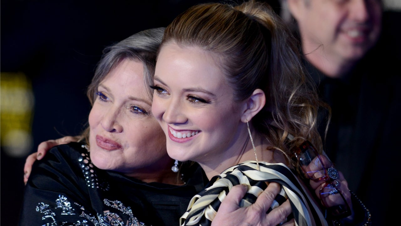 Billie Lourd Honors Late Mom Carrie Fisher With Star Wars Day Tribute
