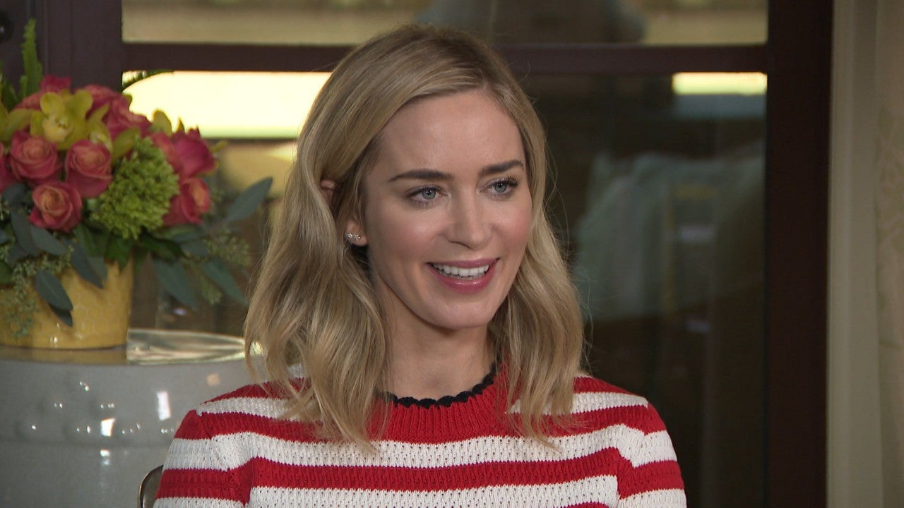 Emily Blunt Reacts to ...