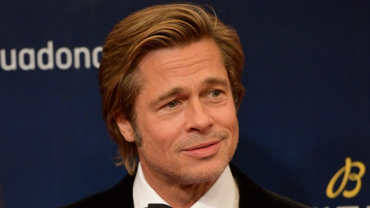 Brad Pitt Goes Full James Bond in China at Gala Dinner ...