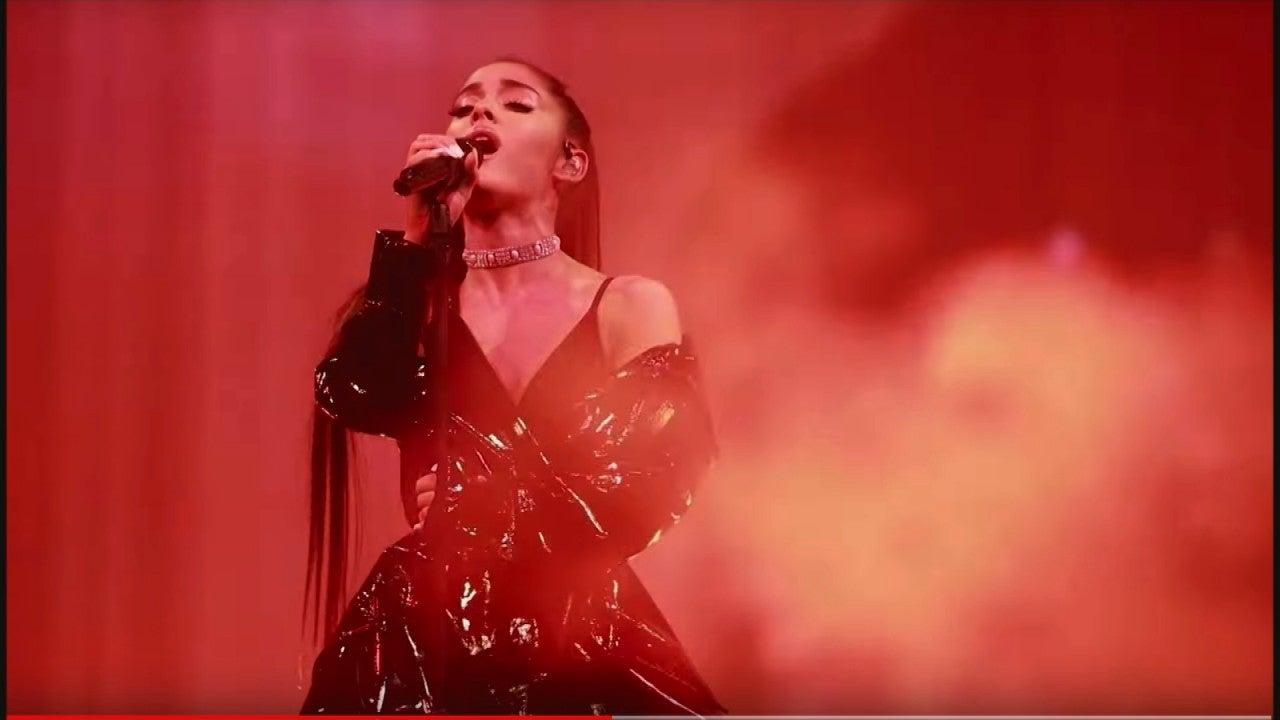 Ariana Grande and Chil...J Balvin