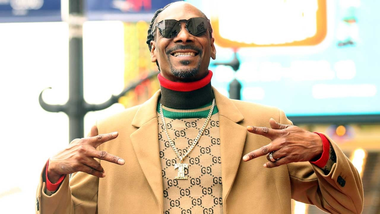 Snoop Dogg Receives Star On Hollywood Walk of Fame 25 Years