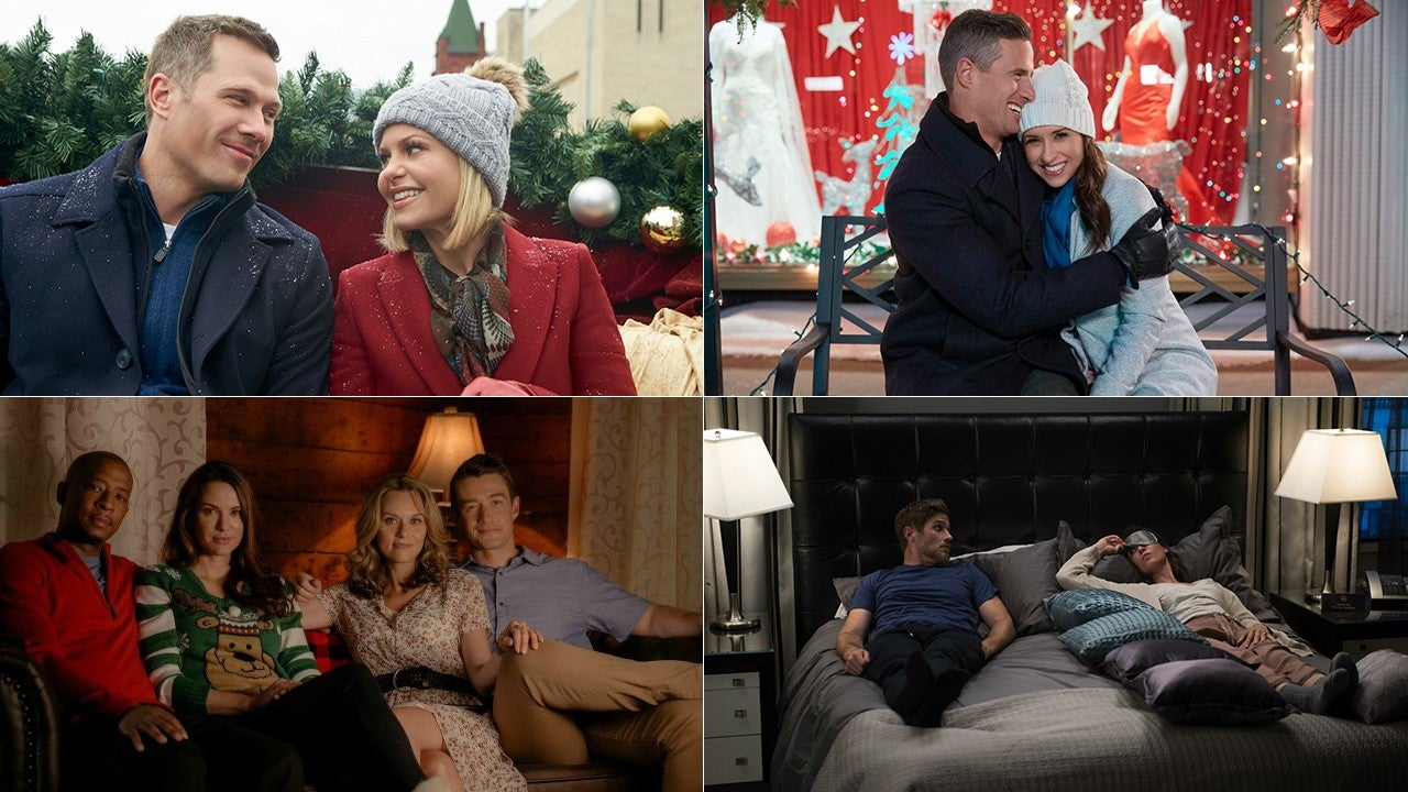 the top 24 holiday tv movies to watch in 2018 entertainment tonight - What Christmas Movies Are On Tv Tonight
