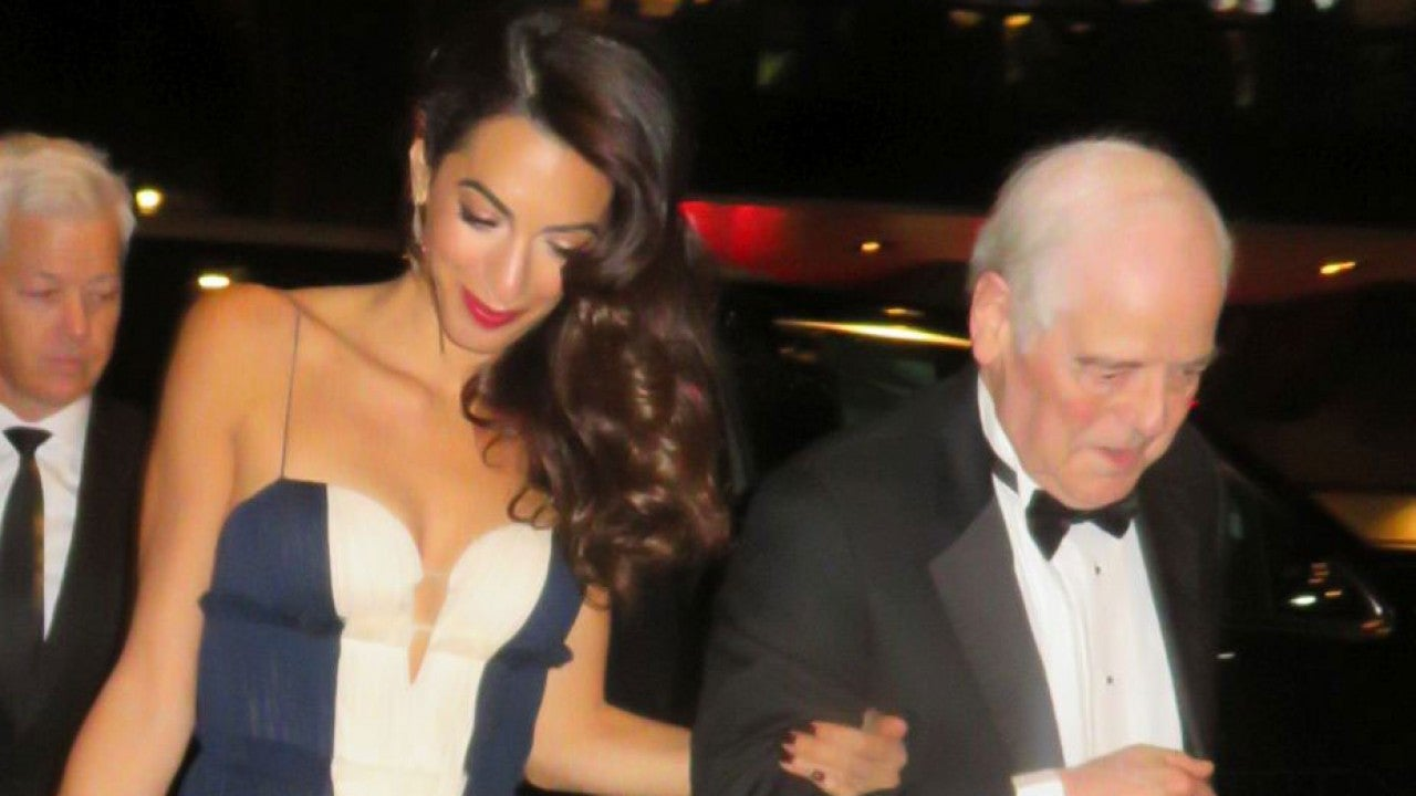 Amal Clooney Is Sheer Perfection With George and His Parents