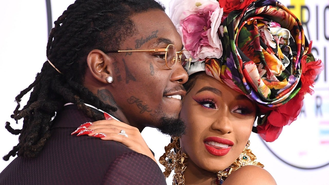 cardi b shares first photo of daughter kulture after