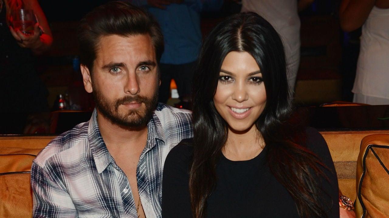 Kourtney Kardashian Shares Funny 'Co-Parenting' Pic With Scott Disick