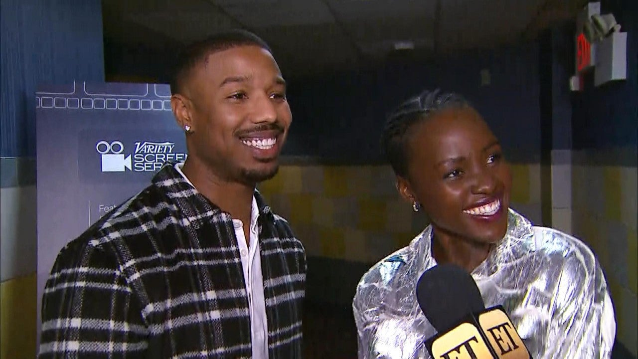 Michael B. Jordan and Lupita Nyong'o Talk Their Chemistry